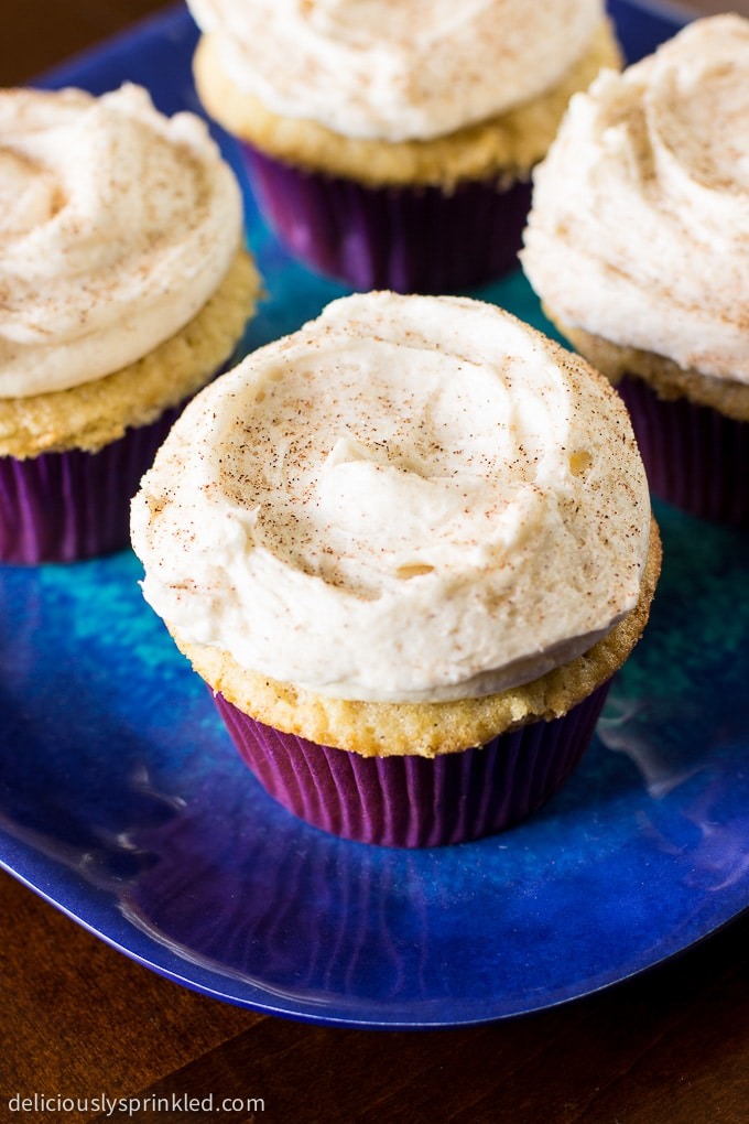 Snickerdoodle Cupcakes Recipe