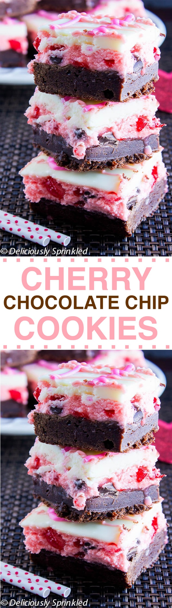 CHERRY CHOCOLATE CHIP BROWNIES RECIPE