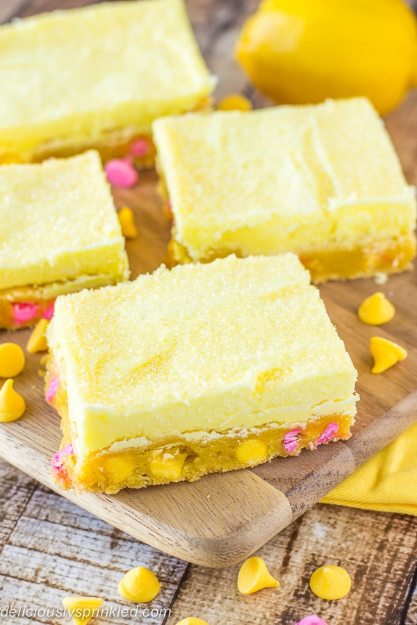 Lemon Bars Recipe by Deliciously Sprinkled