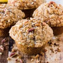 Banana Crumb Muffins-457