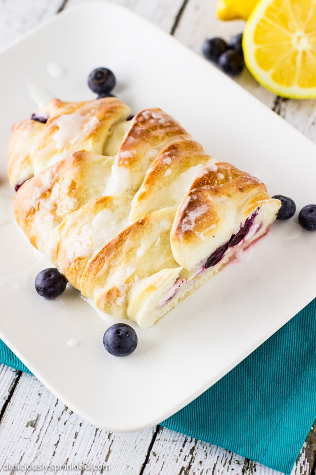 Braided Strawberry Cheese Bread Recipe — Dishmaps