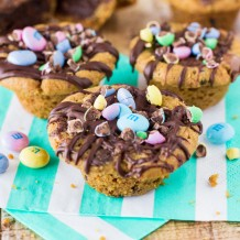 Chocolate Chip Cookie Brownie Bites-111