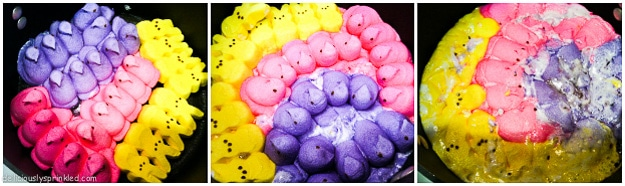 Melted Peeps