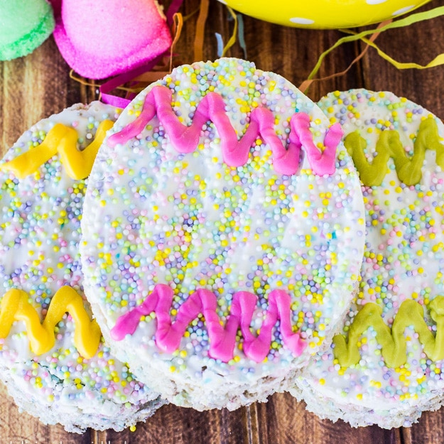 Easter Egg Rice Krispie Treats