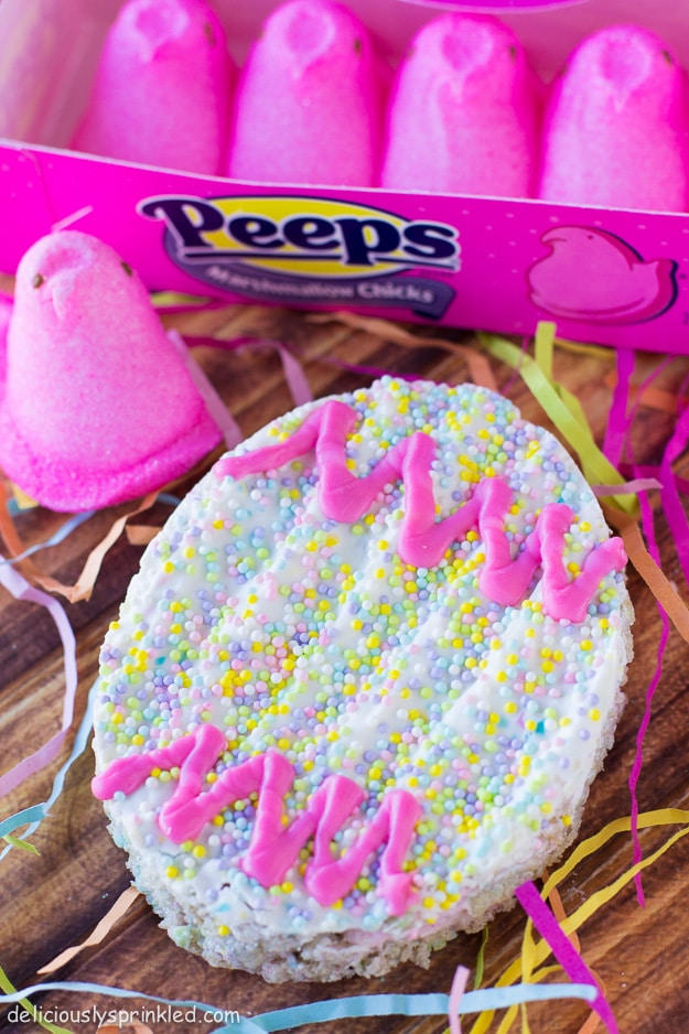 Peeps Rice Krispie Treats Recipe