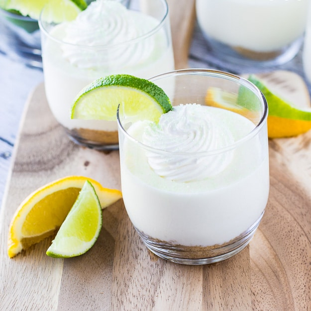 Lime Cheesecake Parfaits