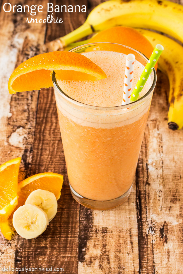Orange Banana Smoothie by Deliciously Sprinkled.jpg