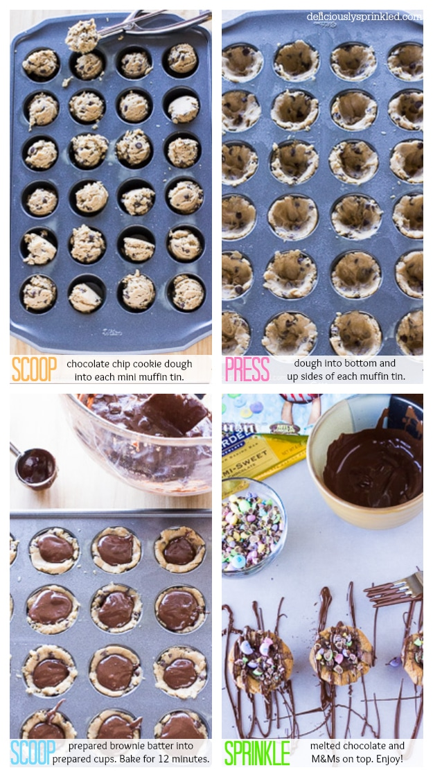 Brownie Bites by Recipe by Deliciously Sprinkled
