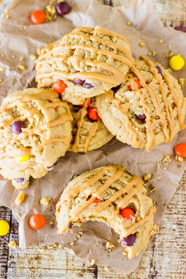 Triple Peanut Butter Cookies Recipe