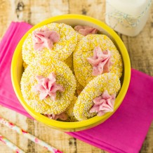 Lemon Raspberry Cookies