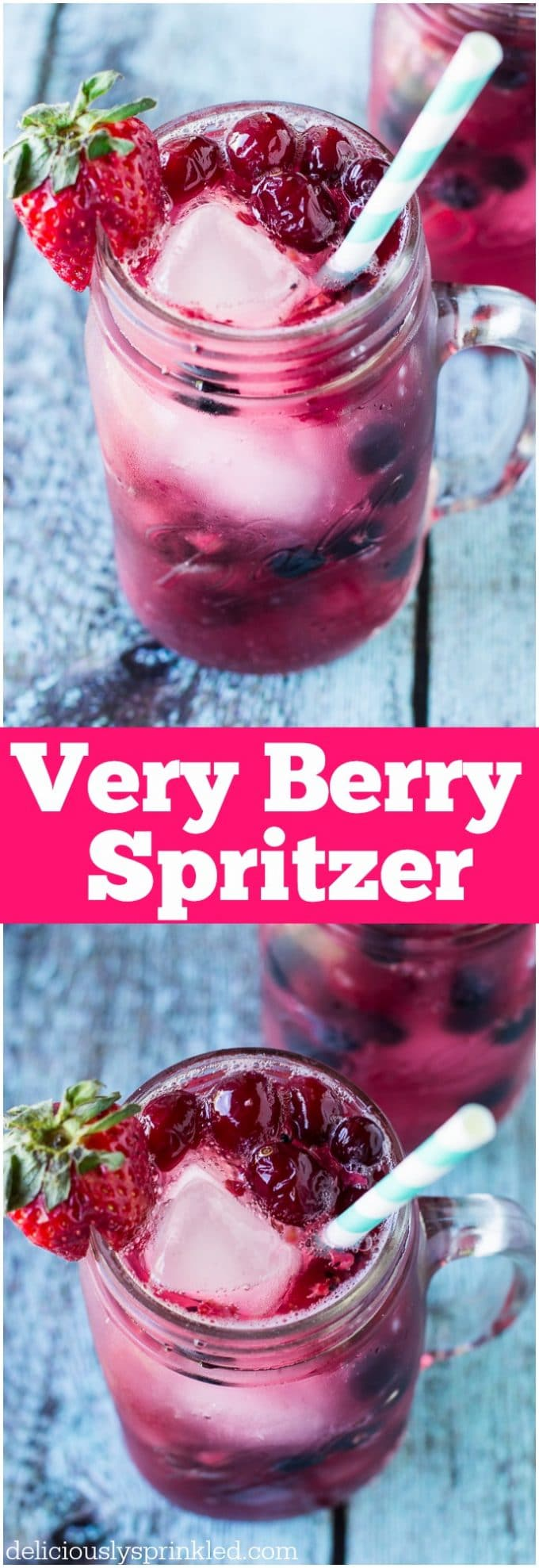 EASY VERY BERRY SPRITZER RECIPE