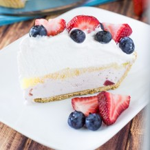 Very Berry Ice Cream Pie