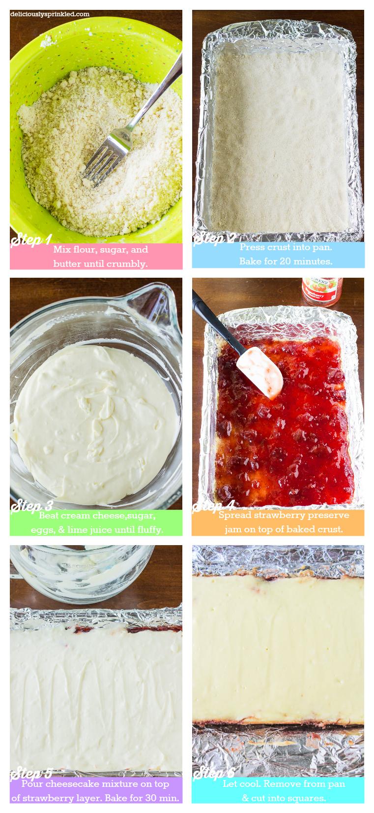 How to Make Strawberry Cheesecake Recipe