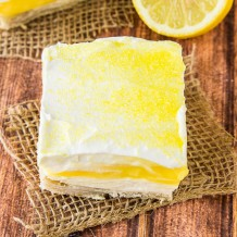 Lemon Pie Bars Recipe