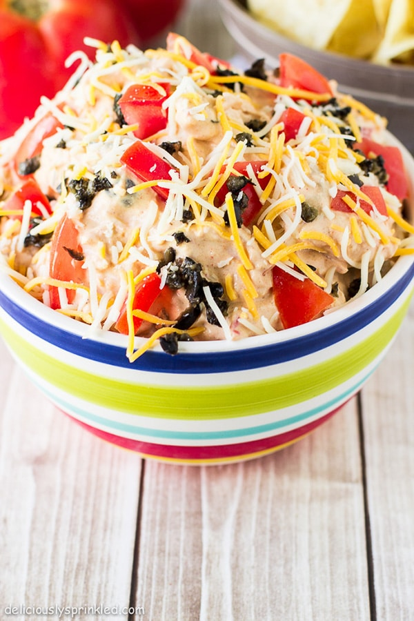 the best taco dip recipe