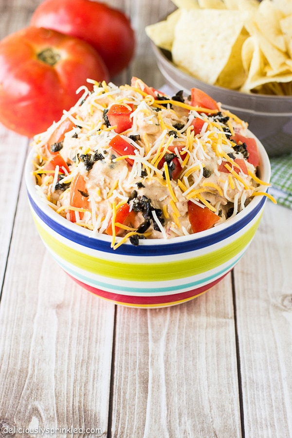 cold taco dip recipe