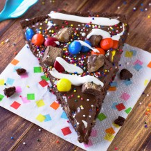 Brownie Dessert Pizza