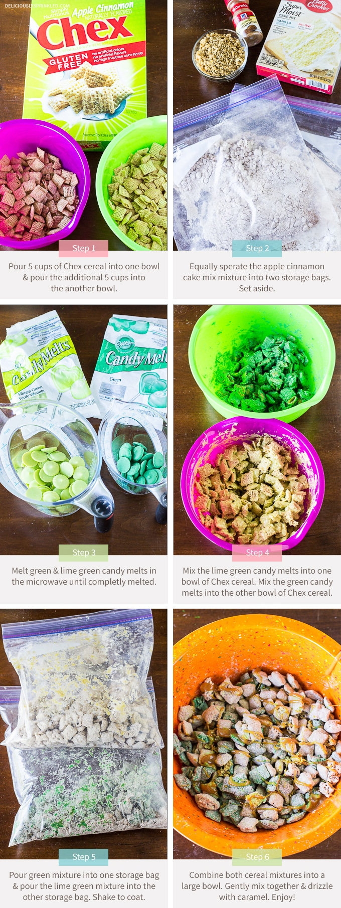Caramel-Apple-Puppy-Chow Recipe