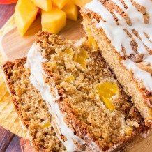 Glazed Peach Bread Recipe