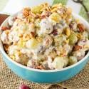 Pecan Crunch Grape Salad