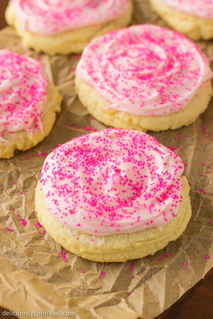 THE BEST FROSTED SUGAR COOKIES
