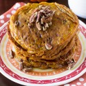 Pumpkin Spice Buttermilk Pancakes. Recipe by deliciouslysprinkled.com