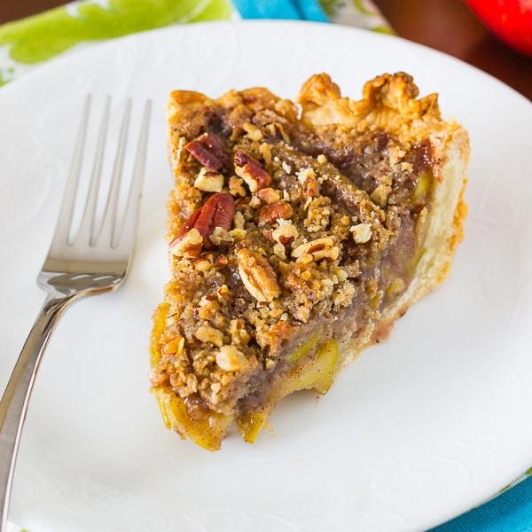 Apple Pecan Pie, a easy pie recipe that everyone will love.