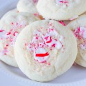 Peppermint Sugar Cookies, perfect Christmas Cookie recipe.