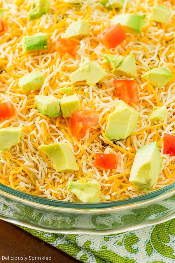 Avocado Tex-Mex Dip, Avocado Dip, Taco Dip, Easy Dip Recipes