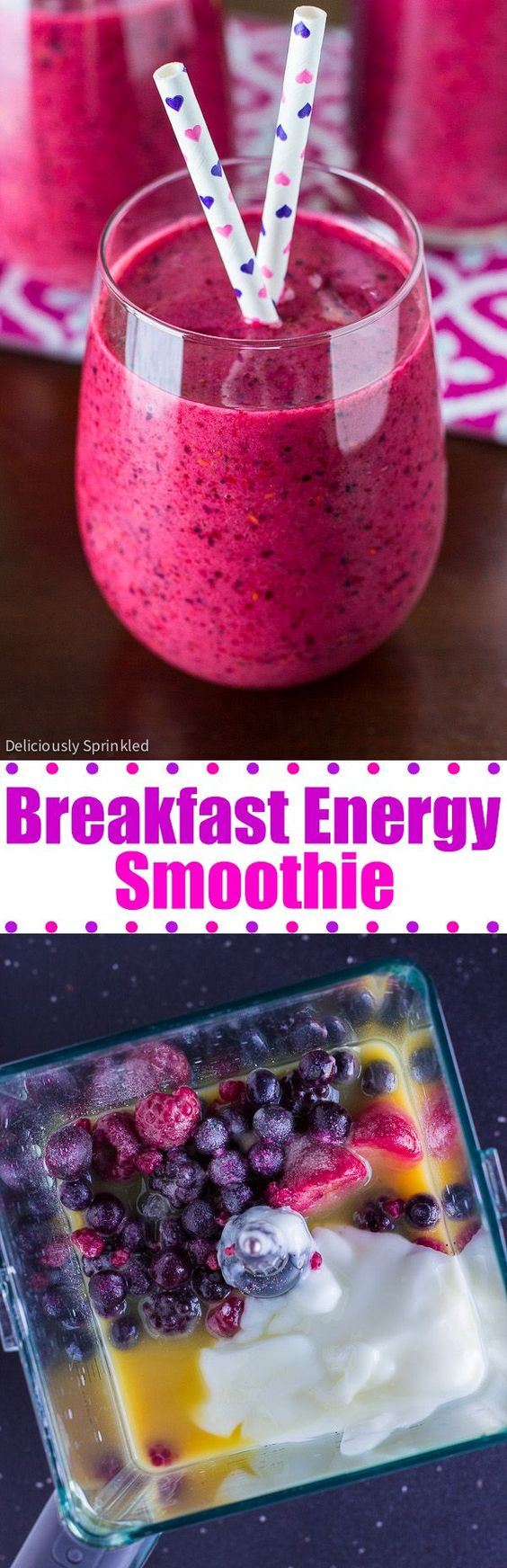 Breakfast Energy Smoothie Recipe