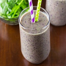 BERRY GREEN SMOOTHIE RECIPE