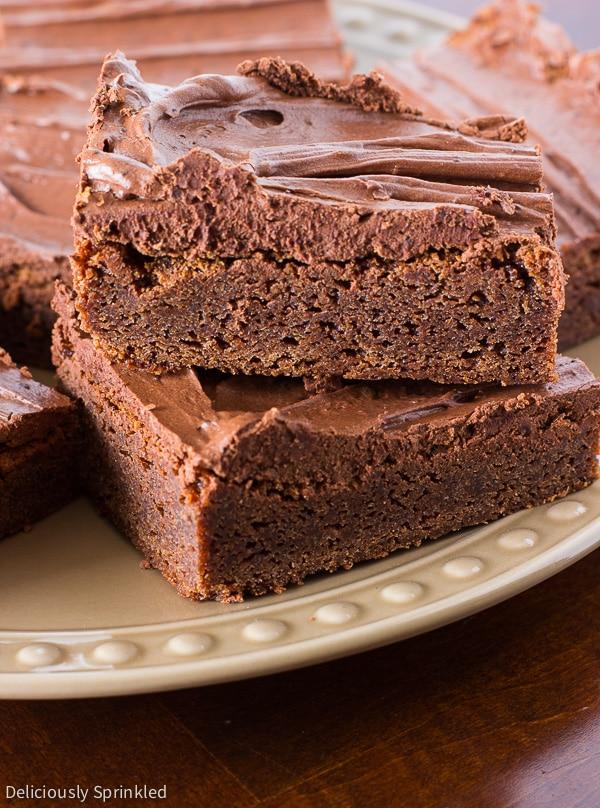 Homemade Brownies, Fudge Brownies, Easy Brownies, Brownies from ...