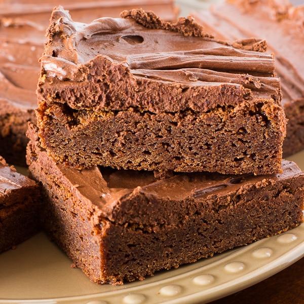 Homemade Fudgy Brownies