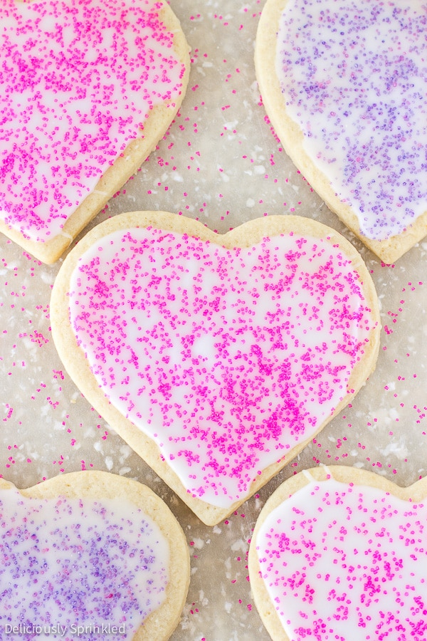 Cut-Out Sugar Cookies | Deliciously Sprinkled