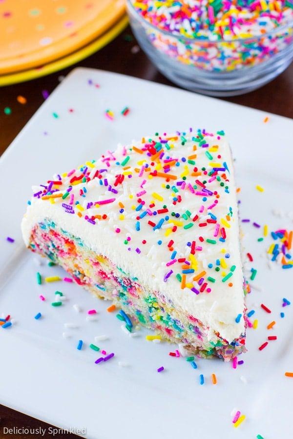 Homemade Funfetti Cake Recipe