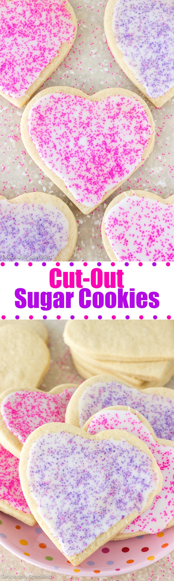 THE BEST CUT-OUT SUGAR COOKIES RECIPE