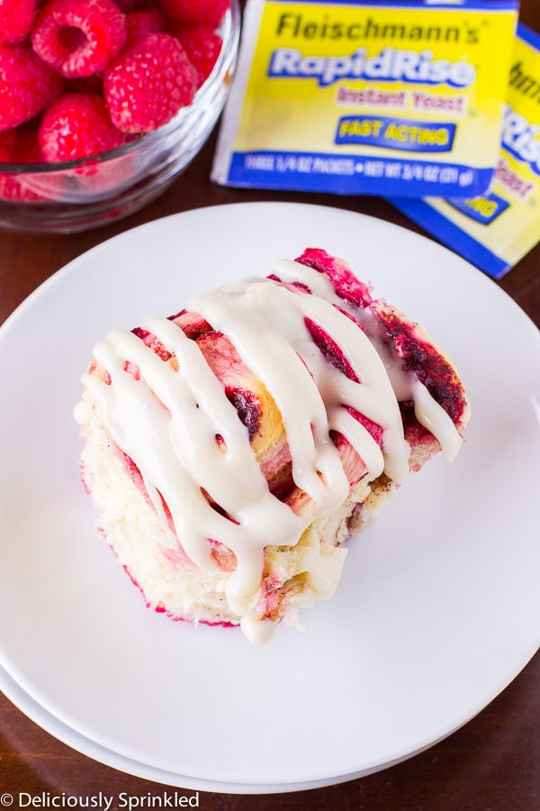 ... BY-STEP GUIDE ON HOW TO MAKE THESE HOMEMADE RASPBERRY CINNAMON ROLLS
