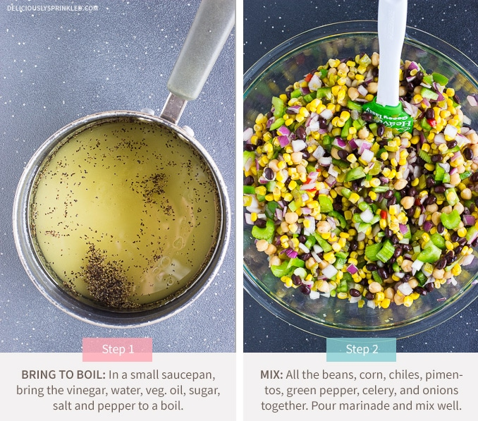 Deliciously Sprinkled Black Bean and Corn Salsa | Deliciously ...