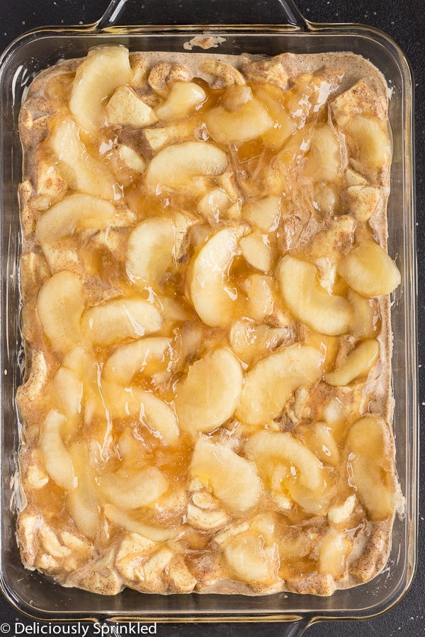 Apple French Toast Bake Recipe