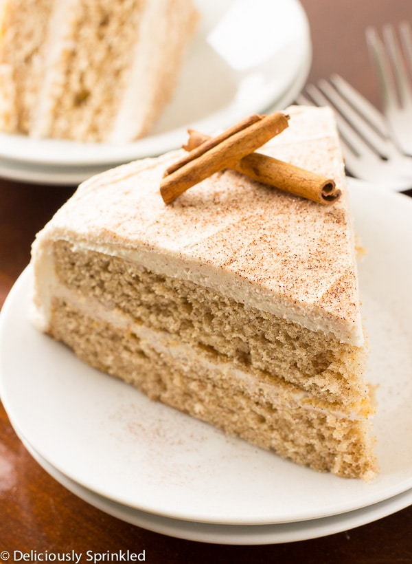Cake With  Sticks Of Butter And Powder Sugar