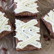 Mummy Hazelnut Brownies