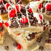 Cherry Chocolate Chip Bars