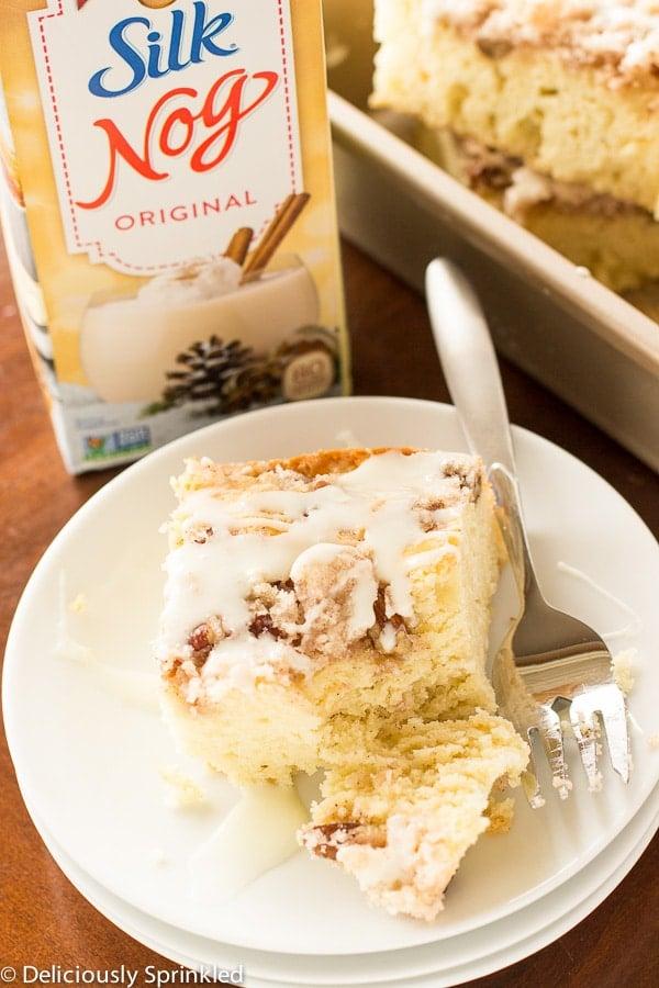 Eggnog Coffee Cake-11