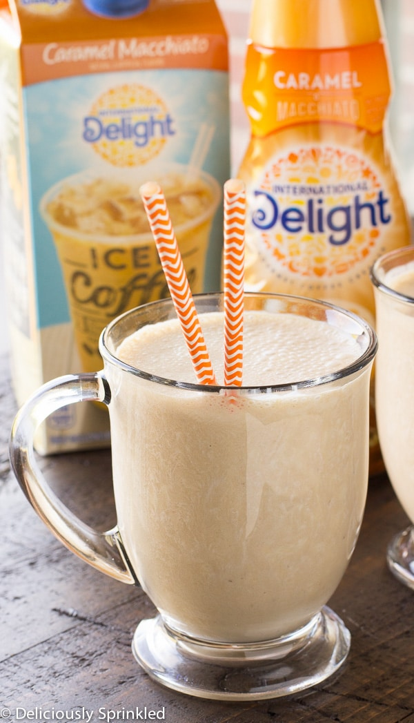 Caramel Macchiato Iced Coffee Smoothie-1