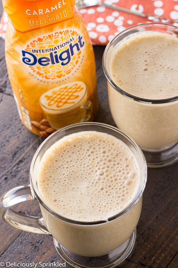 Caramel Macchiato Iced Coffee Smoothie-1