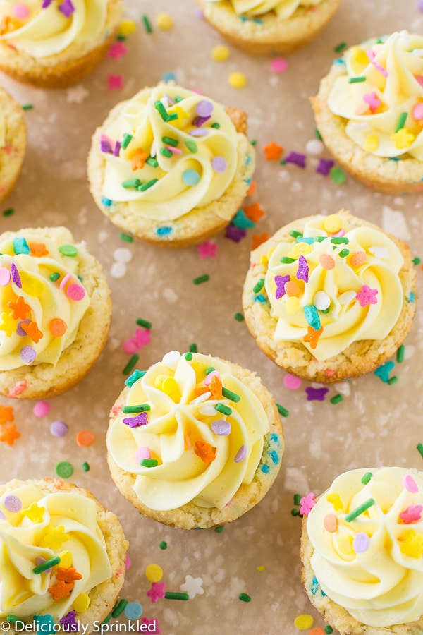 Cookies Out Of Cake Mix Funfetti