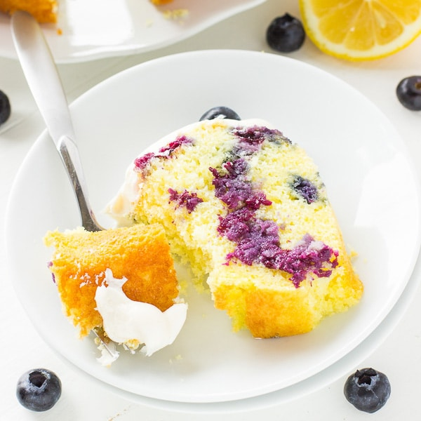 Lemon Blueberry Bundt Cake Deliciously Sprinkled