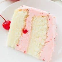 CHERRY ALMOND CAKE RECIPE