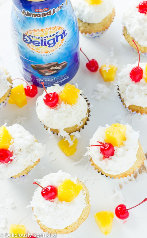 Coconut Cupcakes-International Delight Recipes