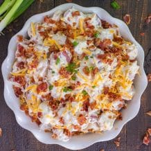 CREAMY BACON RANCH POTATO SALAD
